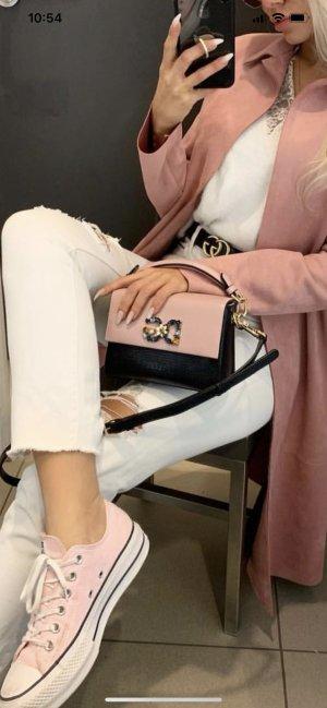 Dolce & Gabbanna Tasche rosa schwarz