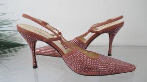 Dolce & Gabbbana * Pumps / Slingback / High Heels * Gr.38 * NP 700,€ !!