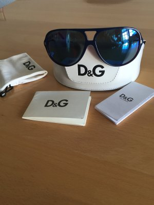Dolce und Gabbana Sonnenbrille verspiegelt