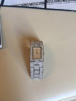 Dolce und Gabbana Uhr mit Kristallen!