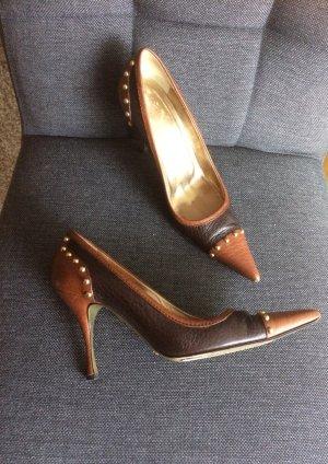 Dolche & Gabbana Pumps Leder braun Größe 37