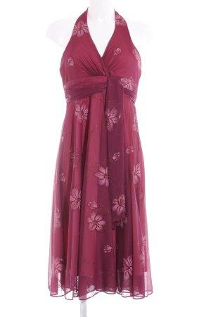 Dollar Cocktailkleid purpur-rosa Blumenmuster Elegant