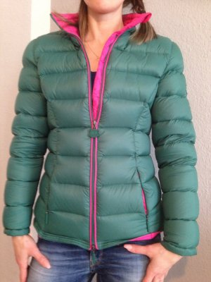 Dolomite Daunenjacke Gr.36 *nur ein paar mal getragen* grün/pink
