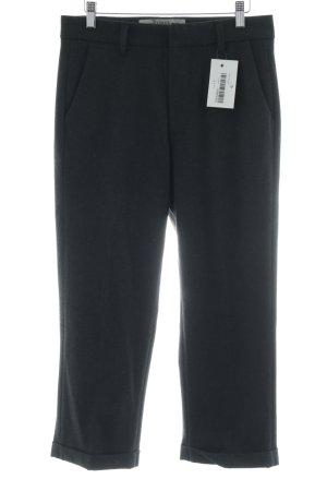 dolores Pantalon en laine noir style décontracté