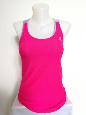 Domyos Sporttop in Pink mit Bustier (Gr. 36)