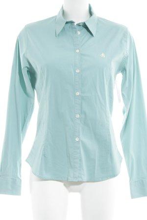 Donaldson Camicia blusa turchese stile casual