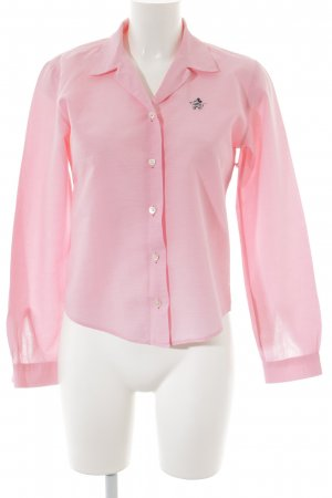 Donaldson Langarm-Bluse rosa Casual-Look