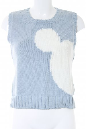 Donaldson Knitted Top light blue-white