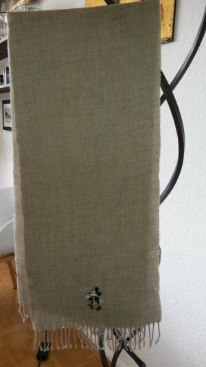 Donaldson Woll Schal camel, Fransen ca.160cm