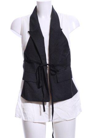 Dondup Gilet bianco-nero stile professionale