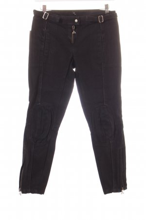 Dondup Bikerjeans schwarz Street-Fashion-Look