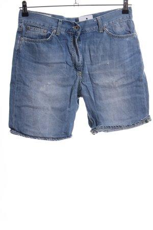 Dondup Short en jean bleu style décontracté