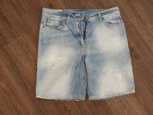 Dondup Pantalón corto de tela vaquera azul claro-azul celeste Algodón