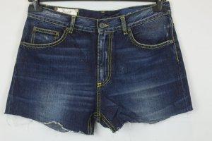 Dondup Short en jean bleu coton
