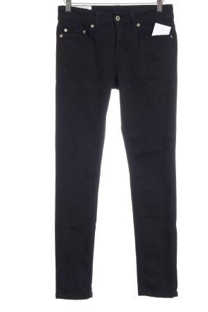 Dondup Skinny Jeans schwarz Casual-Look