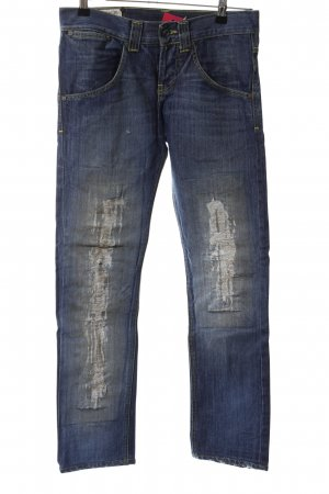 Dondup Slim Jeans blau Casual-Look