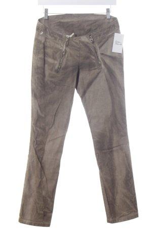 Dondup Slim Jeans hellbraun-braun Batikmuster Country-Look