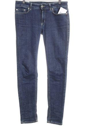 Dondup Slim Jeans stahlblau Casual-Look