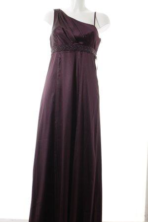 Donna by Hallhuber Abendkleid brombeerrot Elegant