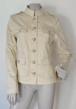 DONNA by Hallhuber Blazer Jacke Military Style beige Gr. 40