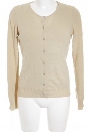 Donna by Hallhuber Strick Twin Set creme Casual-Look