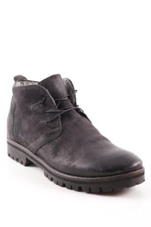 Donna Carolina Ankle Boots schwarz schlichter Stil