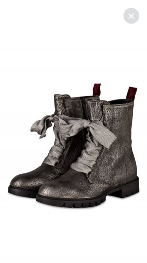 Donna Carolina Boots silver-colored-grey