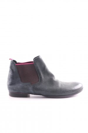 Donna Carolina Chelsea Boots schwarz-pink Casual-Look