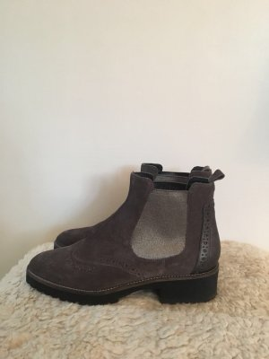Donna Carolina Chelsea Boots multicolored suede