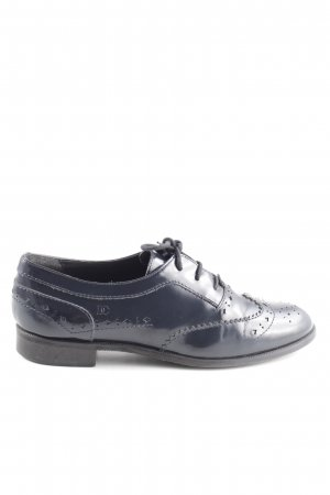 Donna Carolina Scarpa Oxford blu stile professionale