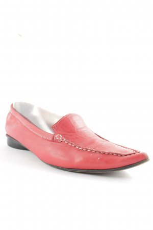 Donna Carolina Scarpa slip-on rosso scuro stile casual