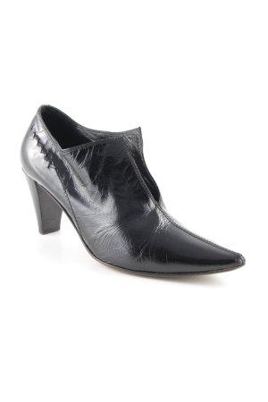 Donna Carolina Schlüpfschuhe schwarz Elegant