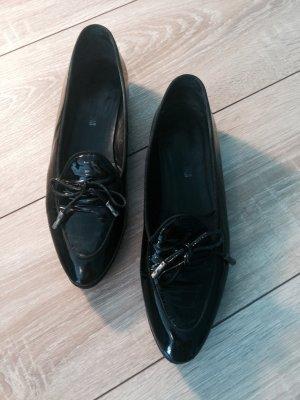 DONNA CAROLINA - Slipper aus Lackleder mit Schlefe vorne Gr 36.5
