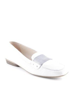 Donna Carolina Pantofola argento-bianco sporco elegante