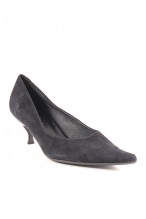 Donna Carolina Spitz-Pumps schwarz Business-Look