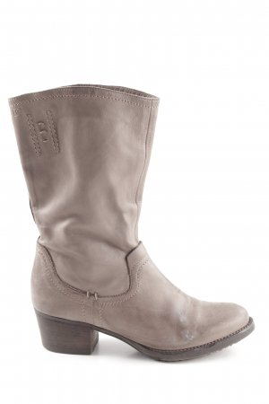 Donna Carolina Westernstiefel graubraun Country-Look