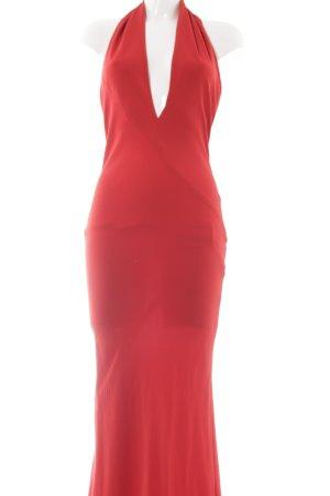 Donna Karan Abendkleid dunkelrot Elegant