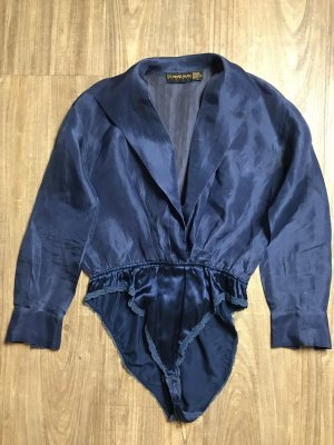 Donna Karan Bluse blau Gr 38/40 D