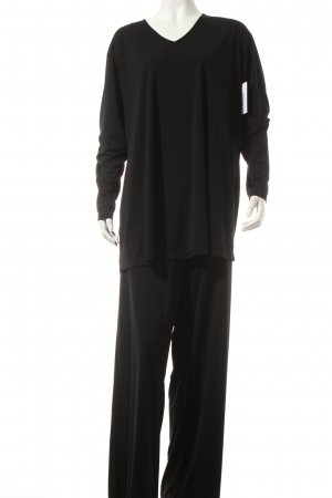Donna Karan Chándal negro estilo clásico