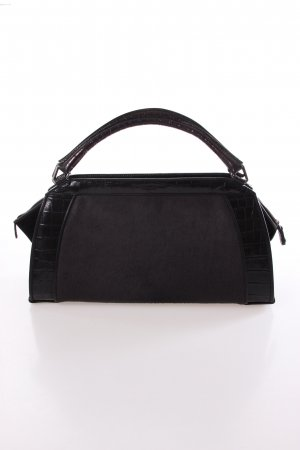 Donna Karan Hydroform Handbag Haircalf Anthracite Small