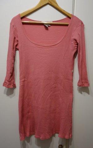 Donna Karan Vestido estilo camisa nude-rosa