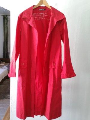 Donna Karan Mantel in trendigem rot