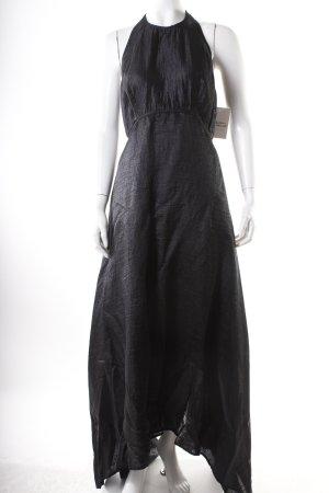 Donna Karan Maxikleid schwarz Eleganz-Look