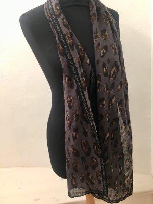 Donna Karan new York DKNY Schal Leo wie neu Herbstfarben