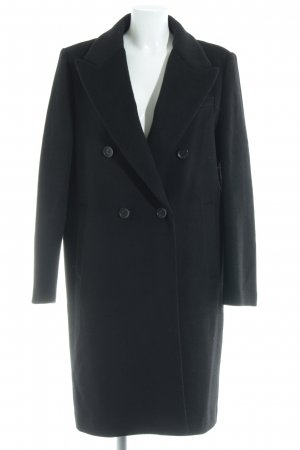Donna Karan Oversized Coat black Brit look