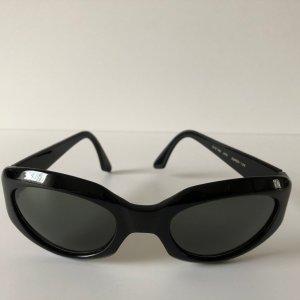 Donna Karan Ovale zonnebril zwart kunststof