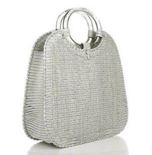 Donna Karan Travel Bag Woven Rope Large