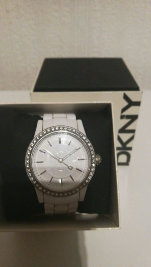 Donna Karan Uhr Weiß -silber DKNY