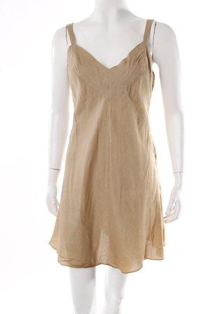 Donna Karan Vintage Trägerkleid beige