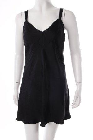 Donna Karan Vintage Trägerkleid schwarz